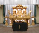 葬儀社への支払い 約27万円(思い出の里会館)